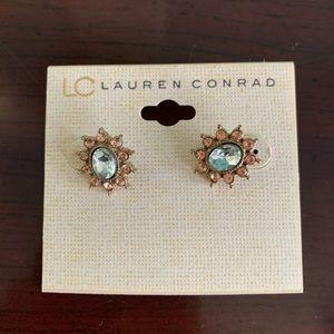 Lauren Conrad sun earrings LC